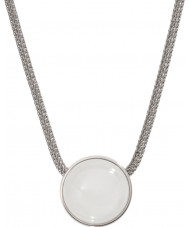 Skagen SKJ0080040 レディース海のガラス銀鋼のネックレス