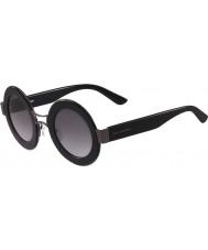 Karl Lagerfeld レディースkl901s黒のサングラス