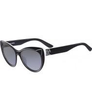 Karl Lagerfeld レディースkl900s黒のサングラス