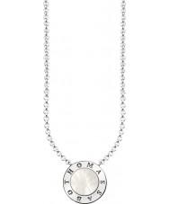 Thomas Sabo KE1492-029-14-L45v 真珠の母を持つ女性銀の署名古典的なネックレス