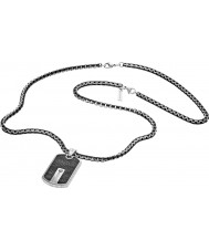 Police 25492PSB-01 メンズハイブリッド銀鋼のネックレス